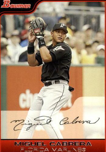 Photo of 2006 Bowman #194 Miguel Cabrera