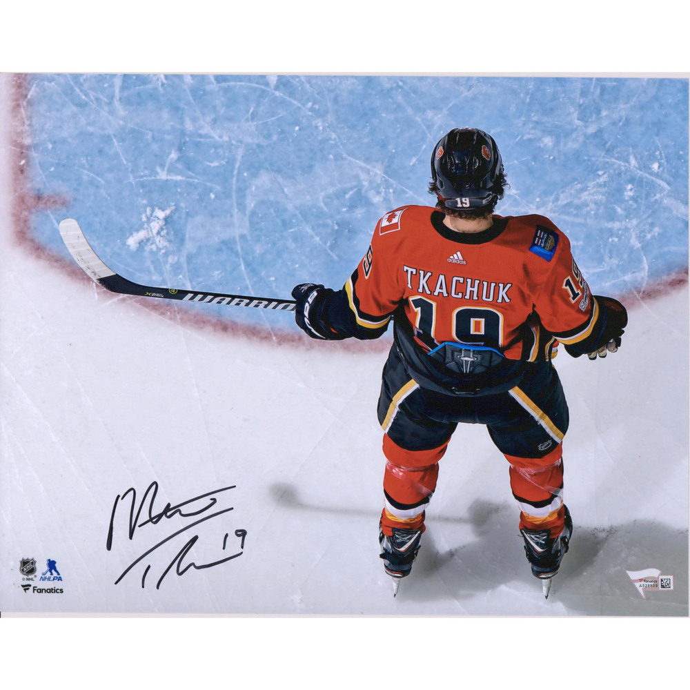 Matthew Tkachuk Calgary Flames Autographed 11
