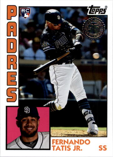 Photo of 2019 Topps Update '84 Topps #848 Fernando Tatis Jr.
