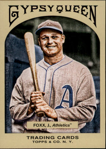 Photo of 2011 Topps Gypsy Queen #53 Jimmie Foxx