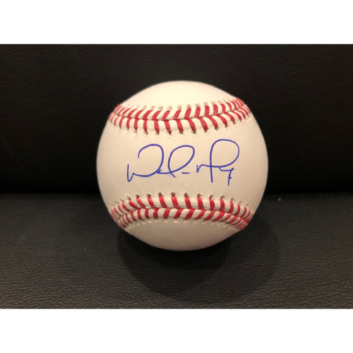 Photo of Reds Authentics: Wade Miley -- Autographed Baseball