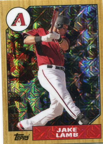 Photo of 2017 Topps '87 Topps Silver Pack Chrome #87JL Jake Lamb S2