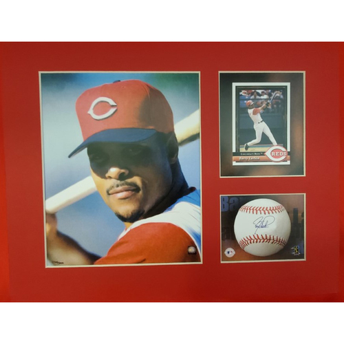Photo of Matted Barry Larkin Portrait - 11x14