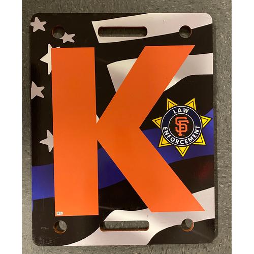 Photo of 2019 Law Enforcement Night K Board