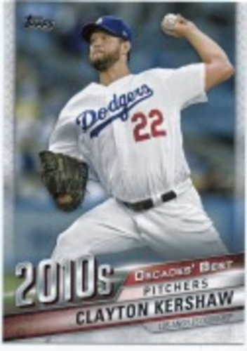 Photo of 2020 Topps Decades' Best Series 2 #DB92 Clayton Kershaw
