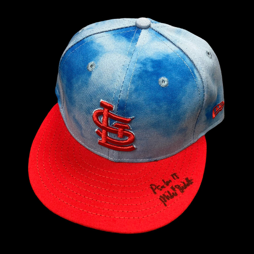 Photo of Mike Shildt Autographed Team Issued Father's Day Cap (Size 7 1/4)