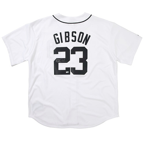 Photo of Detroit Tigers Kirk Gibson Autographed Replica Jersey
