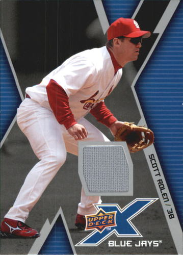 Photo of 2009 Upper Deck X Memorabilia #SR Scott Rolen