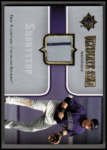 Photo of 2007 Ultimate Collection Ultimate Star Materials #TT Troy Tulowitzki