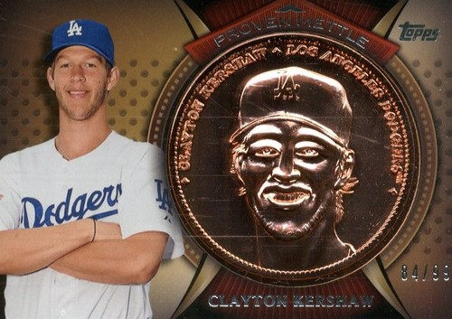 Photo of 2013 Topps Proven Mettle Coins Copper #CK Clayton Kershaw