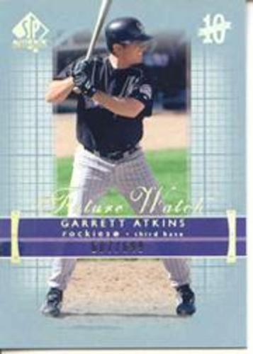 Photo of 2003 SP Authentic #206 Garrett Atkins FW
