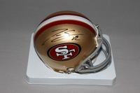 49ERS - TORREY SMITH SIGNED 49ERS MINI HELMET