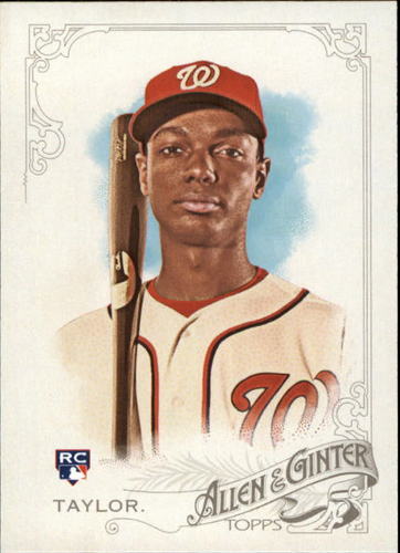 Photo of 2015 Topps Allen and Ginter #235 Michael Taylor Rookie Card -- Nationals post-season