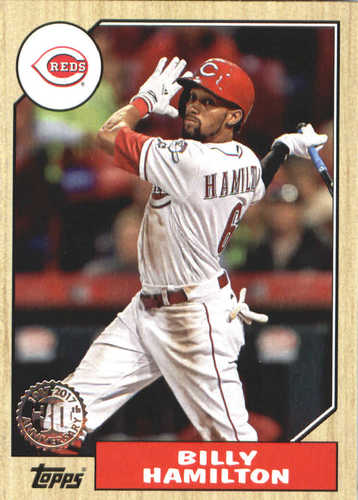 Photo of 2017 Topps Update '87 Topps #US8723 Billy Hamilton