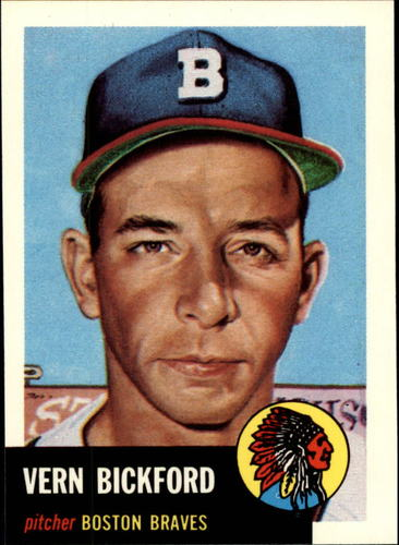 Photo of 1991 Topps Archives 1953 #161 Vern Bickford