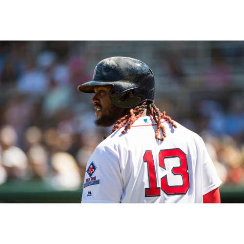 Photo of Red Sox Foundation Game Day - Hanley Ramirez Team-Issued or Game-Used and Autographed Jersey (Pre-Game Sale)