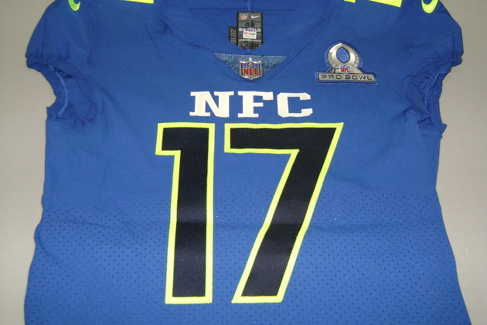 NFL Auction | NFL - GIANTS DWAYNE HARRIS GAME ISSUED NFC PRO BOWL ...