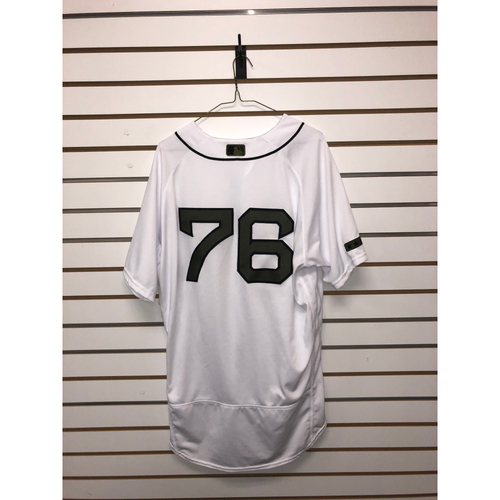 Photo of Hector Velazquez Game Used May 26, 27 & 28, 2018 Memorial Day Home Jersey