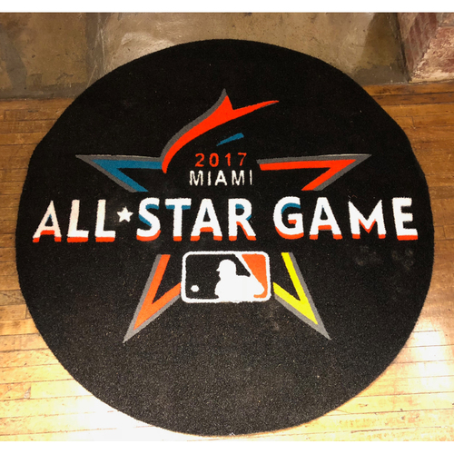 Photo of 2017 MLB All-Star Game - American League Game-Used On-Deck Circle