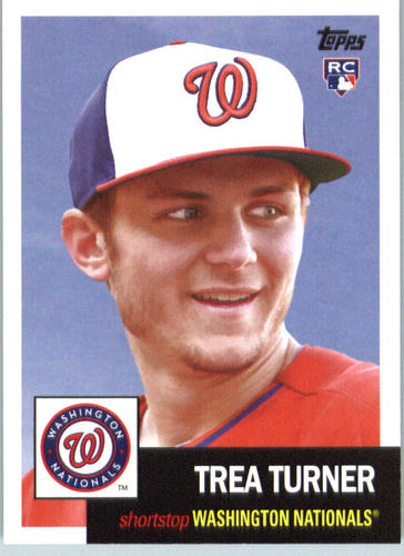 Photo of 2016 Topps Archives #68 Trea Turner RC