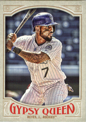 Photo of 2016 Topps Gypsy Queen #210 Jose Reyes