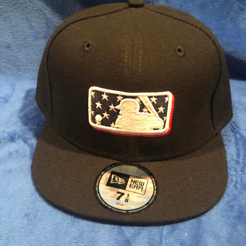 UMPS CARE AUCTION: MLB Specialty Stars Umpire Plate Cap, Size 7 1/8