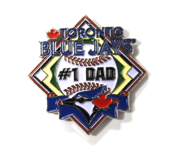 Toronto Blue Jays #1 Dad Pin by PSG