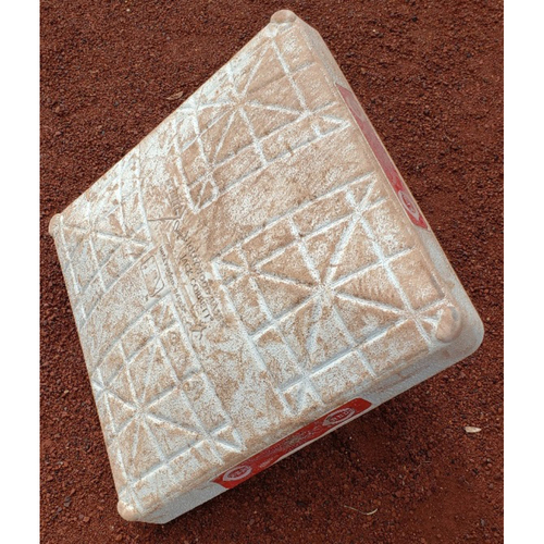 Photo of 2012 Game-Used Base - Jimmy Rollins 2,000th Career Hit