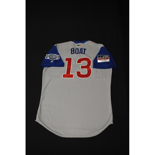 2019 Little League Classic - Game Used Jersey - David