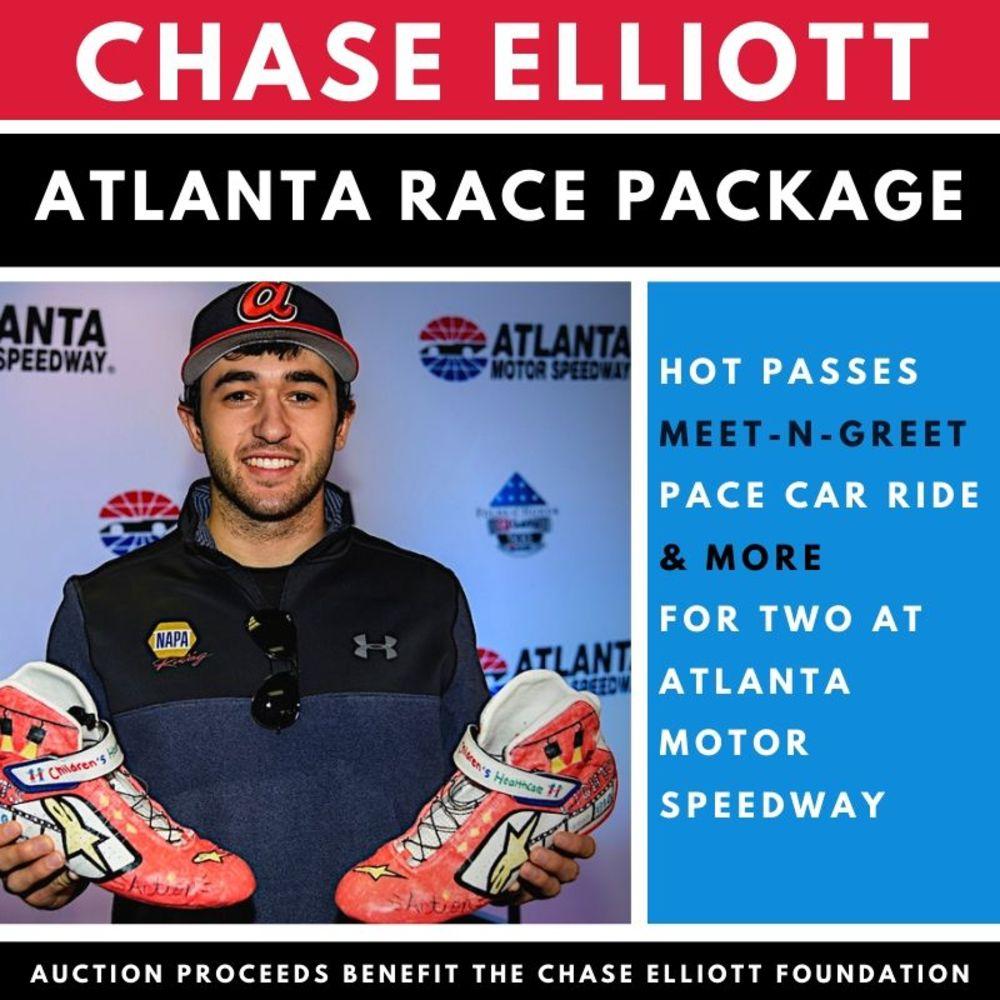 Chase Elliott Atlanta Race Fan Package