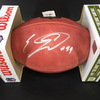 NFL - Bears Eddie Jackson Signed Authentic Football