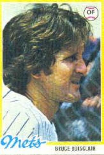 Photo of 1978 Topps #277 Bruce Boisclair