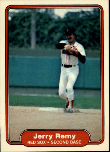 Photo of 1982 Fleer #304 Jerry Remy