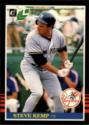 Photo of 1985 Leaf/Donruss #100 Steve Kemp