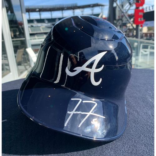 Freddie Freeman Autographed Helmet