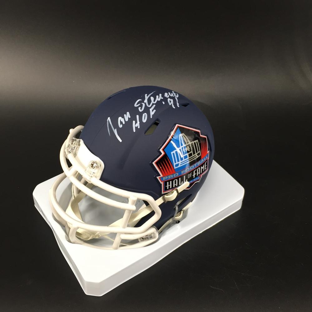 HOF - Chiefs Jan Stenerud Signed Hall of Fame Mini Helmet
