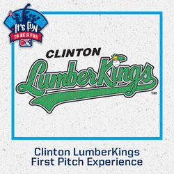 Photo of Clinton LumberKings First Pitch Experience