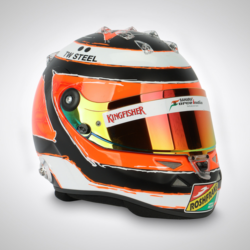 Photo of Nico Hülkenberg 2014 Race-used Helmet