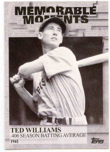Photo of 2017 Topps Memorable Moments #MM20 Ted Williams