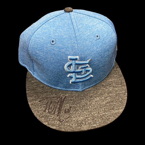 Photo of Tyler O'Neill Autographed Team Issued Father's Day Cap (Size 7)