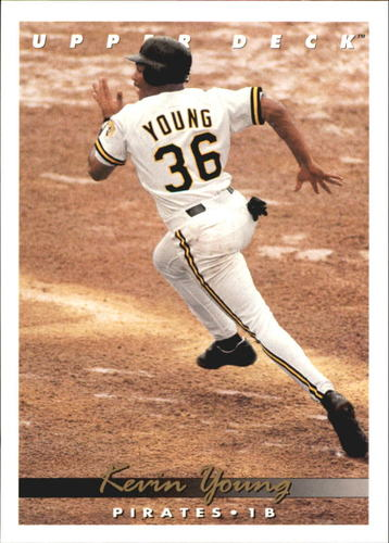 Photo of 1993 Upper Deck Gold Hologram #536 Kevin Young