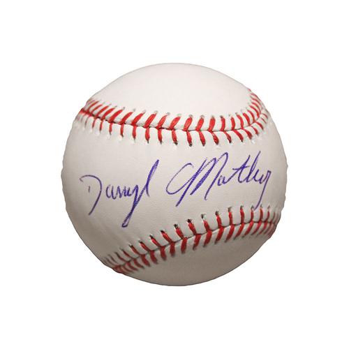 Darryl Motley Autographed Baseball