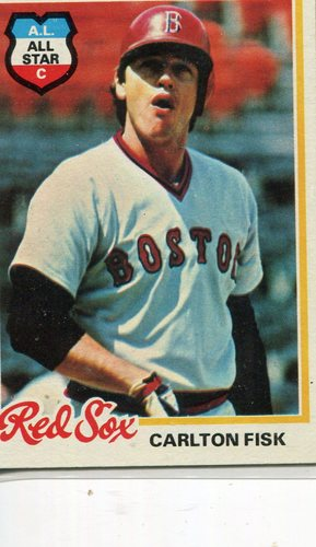 Photo of 1978 Topps #270 Carlton Fisk -- Hall of Famer