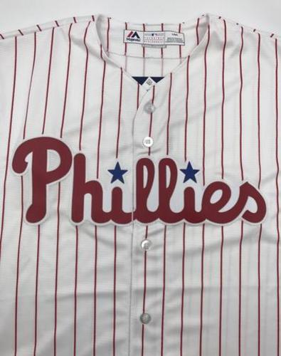 Photo of Philadelphia Phillies Unsigned Replica Jersey - Adult Large