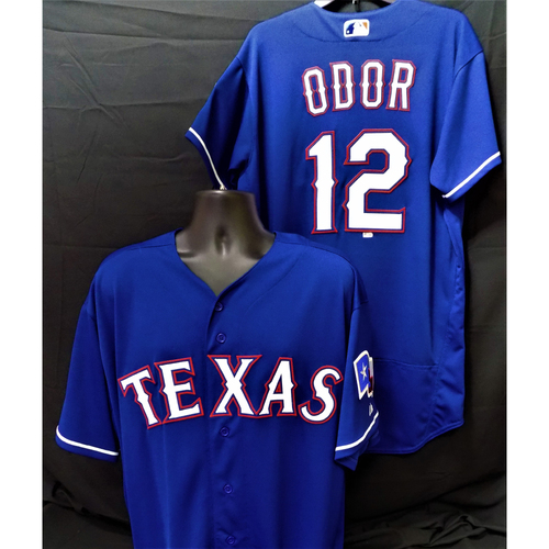 Rougned Odor 2017 Team-Issued Jersey