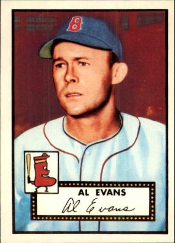 Photo of 1983 Topps 1952 Reprint #152 Al Evans