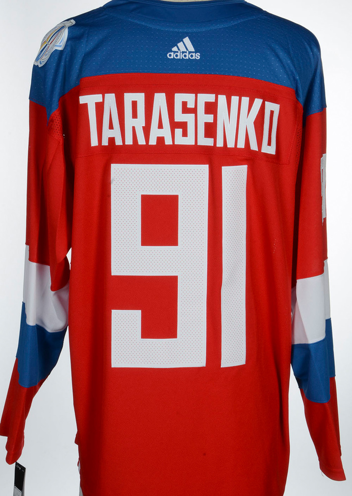 Vladimir Tarasenko St. Louis Blues Adidas Team Russia 2016 World Cup of Hockey Unsigned Jersey
