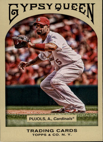 Photo of 2011 Topps Gypsy Queen #75 Albert Pujols