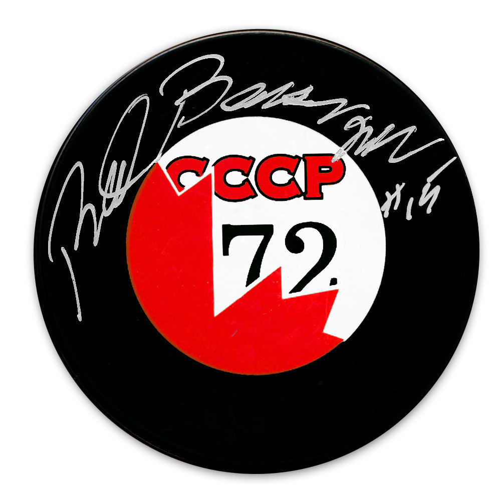 Red Berenson Team Canada Summit Series 1972 Autographed Puck