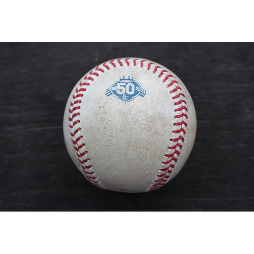 Game-Used Baseball: Jason Hammel Pitched Strikeout to Shohei Ohtani (LAA @ KC - 4/13/18)